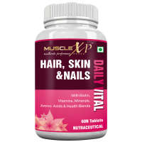 MuscleXP Hair, Skin & Nails Advanced Multivitamin  Tablet