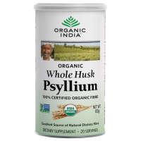 Organic India Whole Husk Psyllium