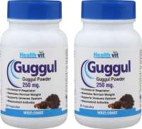 HealthVit  Guggul 250mg Capsule (Pack OF 2)