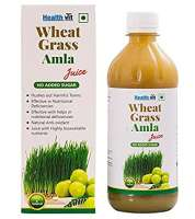 HealthVit Wheat Grass Amla Juice