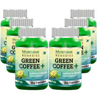Morpheme   Green Coffee+(Pack OF 6) Capsule