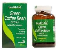 Healthaid Green Coffee Bean Extract with Chromium Capsule