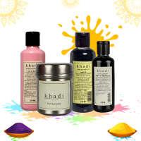 Khadi  Naturals Skin & Hair Care Essentials (Combo OF 4)
