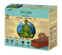 RiteBite Easy Calm Herbal Protein Bar, 50gm Chocolate