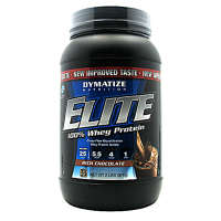 Dymatize Elite 100% Whey Protein Powder Rich Chocolate
