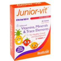 Healthaid Junior-Vit Tablet Tutti Frutti