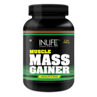 Inlife Muscle Mass Gainer Powder Chocolate