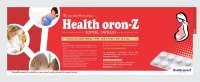 Healthoron-Z Soft Gelatin Capsule