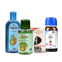 SBL 116 Hair Care Pack (Combo OF 4)