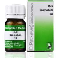 DR. RECKEWEG KALI BROMATUM TRITURATION TABLET 3X