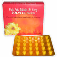 Folvite 5mg Tablet