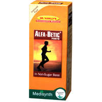 Medisynth Alfa-Betic Forte Non-Sugar Syrup