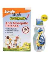 Jungle Magic Anti Mosquito Patches with Free Hand Sanitizer