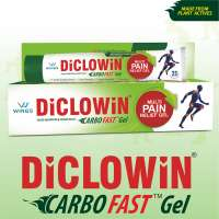 Diclowin Carbofast Pain Relief Gel