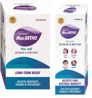 Proyurveda Joint Pain Relief (with Oil) Combo Pack OF Maxartho, 60Caps & Maxartho Oil, 50ml