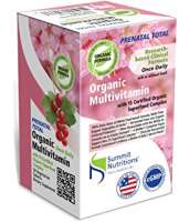 Summit Nutritions Prenatal Total Organic Multivitamins Tablet