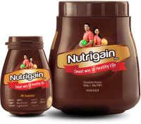 Ayurwin Combo Pack OF Nutrigain Plus, 60Caps & Nutrigain Plus Powder, 500gm (Chocolate)