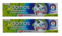 Odomos Naturals Non Sticky Mosquito Repellent Cream Pack of 2