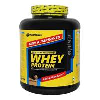 MuscleBlaze Whey Protein with Digestive Enzyme Cafe Mocha