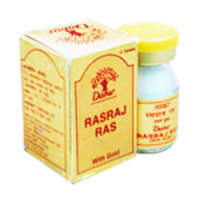 Dabur Rasraj Ras with Gold Tablet