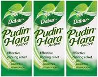 Dabur Pudin Hara Active Liquid Pack of 3