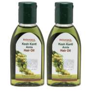 Patanjali Kesh Kanti Amla Hair Oil Pack of 2
