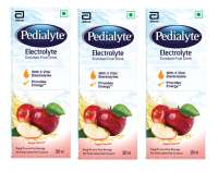 Pedialyte Electrolyte Enriched Fruit Drink Apple Pack of 3