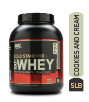 Optimum Nutrition (ON) Gold Standard 100% Whey Cookies & Cream