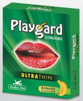Playgard Ultrathin Banana Condom