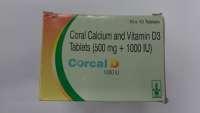 Corcal D 1000 IU Tablet
