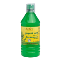 Patanjali Aloe Vera Juice with Fiber Unflavoured