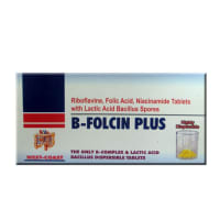 B Folcin Plus Tablet