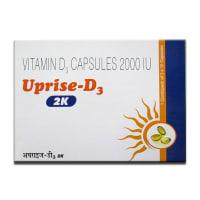 Uprise-D3 2K Soft Gelatin Capsule