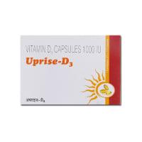 Uprise -D3 1000IU Capsule