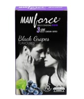 Manforce Wild Condom Black Grapes