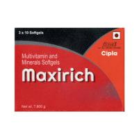 Maxirich Soft Gelatin Capsule