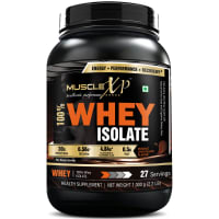 MuscleXP 100% Whey Isolate   Powder Double  Chocolate