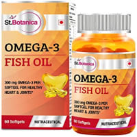 St.Botanica Fish Oil 1000mg (Omega 3) 300mg Capsule