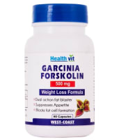 HealthVit Garcinia Forskolin  500mg  Capsule