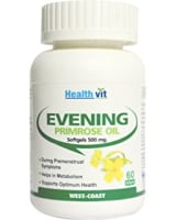 HealthVit Evening Primrose Oil 500mg Softgel