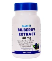 HealthVit Bilberry Extract 40mg Capsule