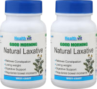 HealthVit Good Morning Natural Laxative Tablet Pack of 2