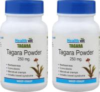 HealthVit Tagara 250mg Capsule (Pack OF 2)