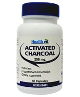HealthVit Activated Charcoal 250mg Capsule