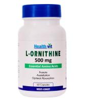 HealthVit L- Ornithine 500mg  Capsule