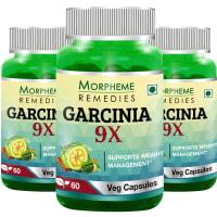 Morpheme Garcinia 9X Capsule (Pack OF 3)