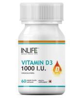Inlife Vitamin D3 1000IU Capsule