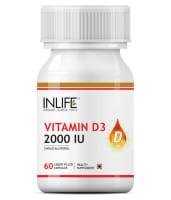 Inlife Vitamin D3 2000IU Capsule