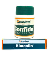 Himalaya Wellness Sexual Wellness Combo Pack (Himcolin Gel 30gm & Confido 60 Tablets)