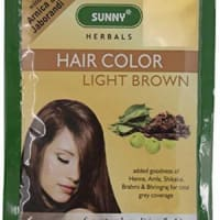 BAKSON'S Hair Color 12 Sachets Light Brown
